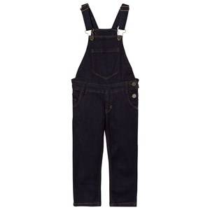 Molo Girls Onesies Blue Alika Overalls Raw Indigo