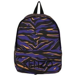Kenzo Boys Bags Blue Blue Tiger Stripe Backpack