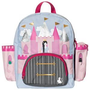 Joules Girls Bags Pink Princess Castle Backpack