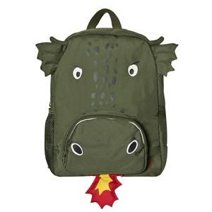 Joules Boys Bags Green Green Dragon Backpack