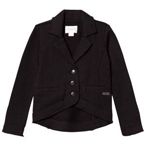 Image of Diesel Boys Suits and tailoring Black Casual Blazer
