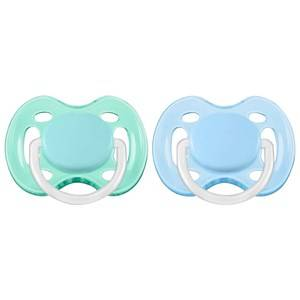 Philips Avent Unisex Baby feeding Blue Freeflow Soother 0-6M 2 Pack Blue