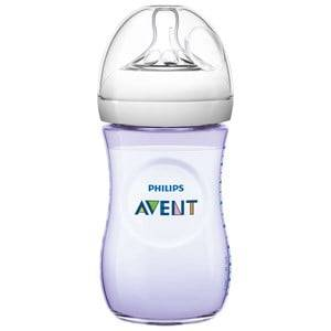 Philips Avent Unisex Baby feeding Beige Natural Feeding Bottle 260 ml (9 oz) 1M+