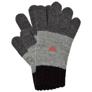 Giorgio Armani Junior Boys Gloves and mittens Black Black and Grey Logo Gloves