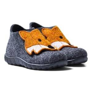 Superfit Unisex Slippers Grey Happy Lavagna Kombi Indoor Shoes