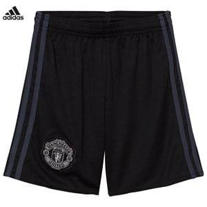 United Manchester United Boys Sporting replica Black Man United ´17 Junior Home Goal Keeper Shorts