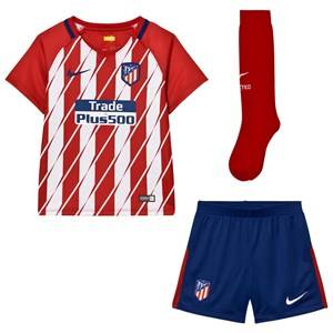 Atletico Madrid Unisex Sporting replica Red Atletico de Madrid Kid´s Home Kit