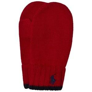 Ralph Lauren Boys Gloves and mittens Red Ralph Red Merino Mittens