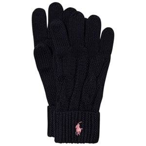 Ralph Lauren Girls Gloves and mittens Navy Navy Knit Gloves