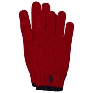 Ralph Lauren Boys Gloves and mittens Red Red Merino Gloves