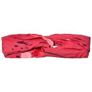 Soft Gallery Girls Hair accessories Red Wrap Hairband Faded Rose
