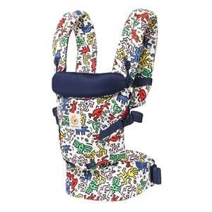 Ergobaby Unisex Carriers and slings Black Original Adapt Baby Carrier Keith Haring Pop - Special Edition