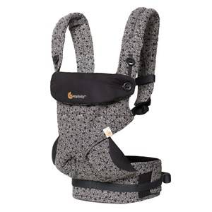 Ergobaby Unisex Carriers and slings Black Four Position 360 Baby Carrier Keith Haring Black - Special Edition
