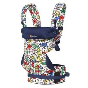 Ergobaby Unisex Carriers and slings Black Four Position 360 Baby Carrier Keith Haring Pop - Special Edition