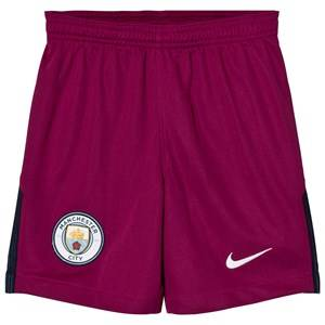Manchester City FC Unisex Sporting replica Red Manchester City FC Away Shorts