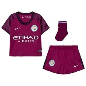 Manchester City FC Unisex Sporting replica Red Manchester City FC Infant Away Kit