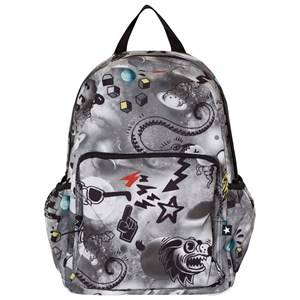 Molo Boys Bags Black Big Backpack Comic Space