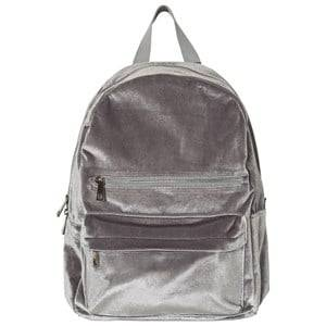 Molo Boys Bags Grey Velvet Backpack Neutral Gray