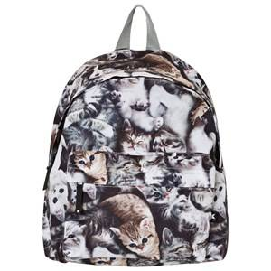 Molo Girls Bags Grey Backpack Miauuu