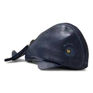 Easy Peasy Girls Bags Navy Navy Whale Leather Purse