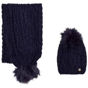 Mayoral Boys Winter sets Navy Navy Chunky Knit Hat and Scarf Set