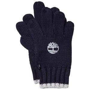 Timberland Boys Gloves and mittens Navy Navy Knit Branded Gloves