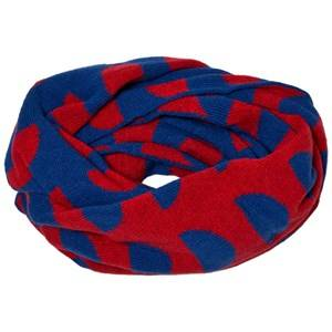 Bobo Choses Unisex Scarves Blue Knitted Scarf Crests