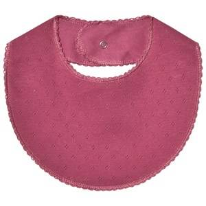 Noa Noa Miniature Girls Baby feeding Red Doria Bib Red Violet