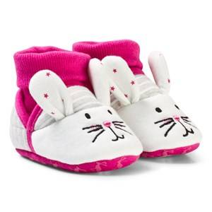 Tom Joule Girls Slippers Pink Bunny Slippers