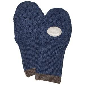Lillelam Unisex Gloves and mittens Blue Mittens Basic Blue