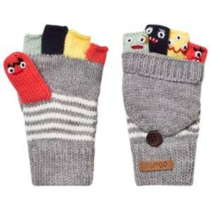 Barts Boys Gloves and mittens Grey Grey Puppet Bum Gloves