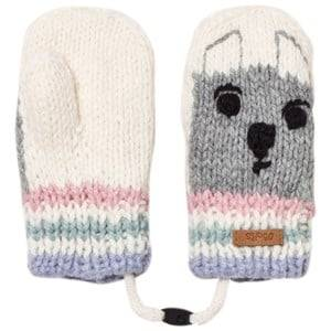 Barts Unisex Gloves and mittens White White Bear Bouly Mittens