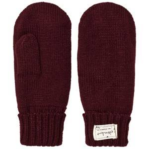 I Dig Denim Unisex Gloves and mittens Red Morris Mittens Burgundy
