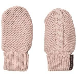 Mini A Ture Unisex Gloves and mittens Pink Celin Mittens Rose Smoke