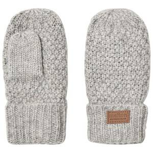 Melton Unisex Gloves and mittens Grey Lamb Wool Sailor Mittens Light Grey