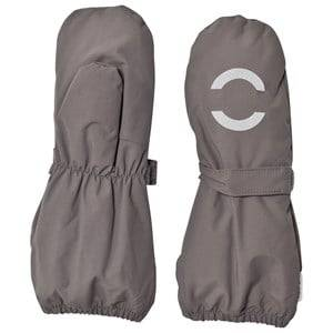 Mikk-Line Unisex Gloves and mittens Grey Nylon Mittens Dark Grey