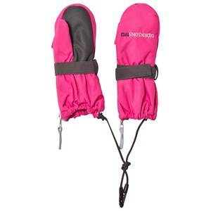 Didriksons Girls Gloves and mittens Pink Biggles Zip Mittens Fuchsia