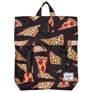 Herschel Unisex Bags Black Survey Backpack Black Pizza