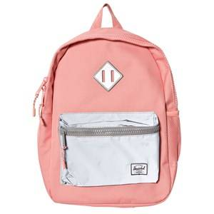 Herschel Unisex Bags Red Heritage Youth Backpack Strawberry Ice