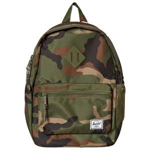 Herschel Unisex Bags Green Heritage Youth Backpack Woodland Camo