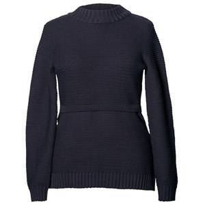 Boob Girls Maternity jumpers & cardigans Blue Ellen Rib Knitted Sweater Midnight Blue