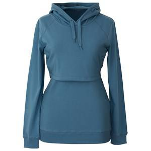 Boob Girls Maternity jumpers & cardigans Blue B·Warmer Hoodie Blue Lake