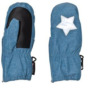 Molo Unisex Gloves and mittens Blue Igor Mittens Blue Mountain