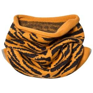 The Bonnie Mob Unisex Scarves Orange Tiger Stripe Snood Honey