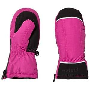 Lindberg Girls Gloves and mittens Pink Bergby Mittens Cerise