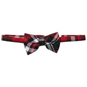 Andy & Evan Boys Ties Red Christmas Plaid Bowtie