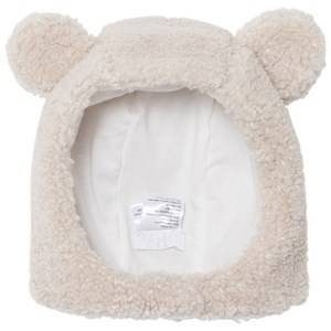 Il Gufo Girls Hair accessories Beige Beige Teddy Fleece Hat