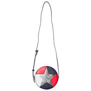 Tommy Hilfiger Girls Bags Red Red and Navy Metallic Star Bag