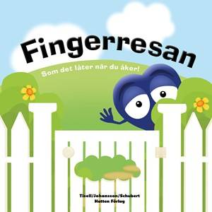 Babblarna Unisex Reading Red Fingerresan Book