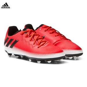 adidas Performance Boys Sport footwear Red Red Messi 16.3 Firm Ground Football Boots